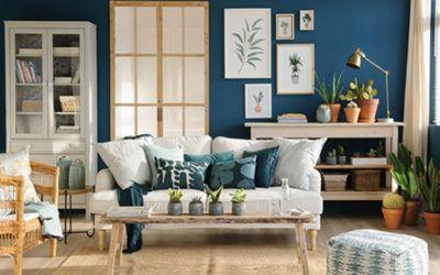 Azul, azul y más azul